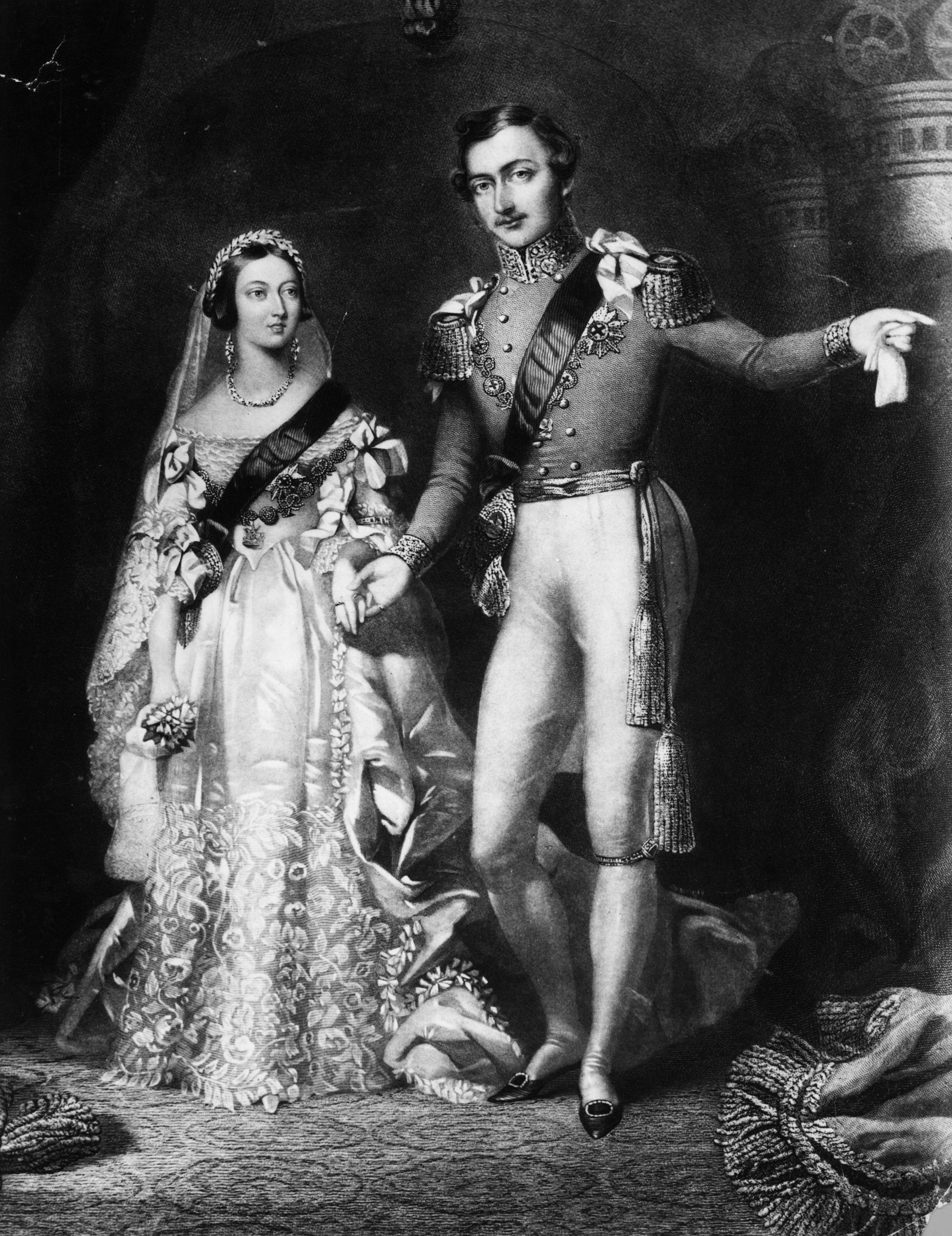 Queen Victoria Married Displaying 19&g...